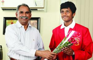 1st rank in IIT - JEE